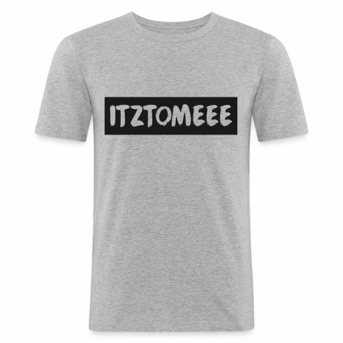ItzTomeee Logo Black - Men's Slim Fit T-Shirt