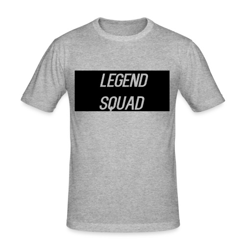 Legend Squad Logo - Men's Slim Fit T-Shirt