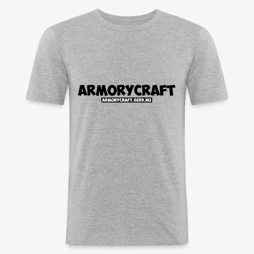 ArmoryCraft- Mannen korte mouw - Mannen slim fit T-shirt