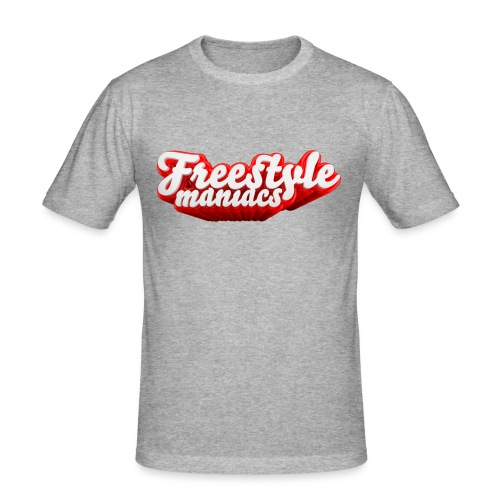 Freestyle Maniacs red - Mannen slim fit T-shirt