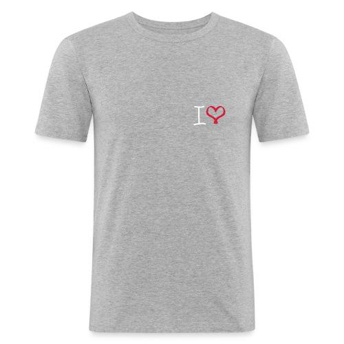 I love, I heart symbol - Men's Slim Fit T-Shirt