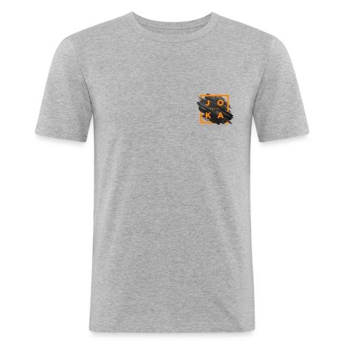 Joka_menze_paint - Männer Slim Fit T-Shirt