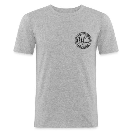 Hessenlongboard® Asphalt Cowboy 2016 - Männer Slim Fit T-Shirt