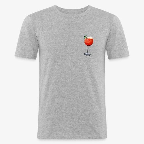 red cocktail - Men's Slim Fit T-Shirt