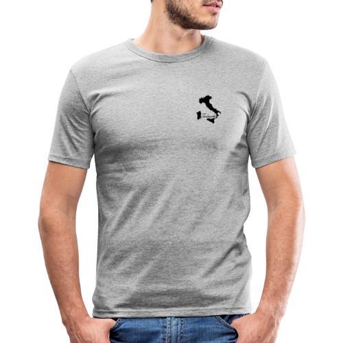 Tedeschi noir - T-shirt près du corps Homme
