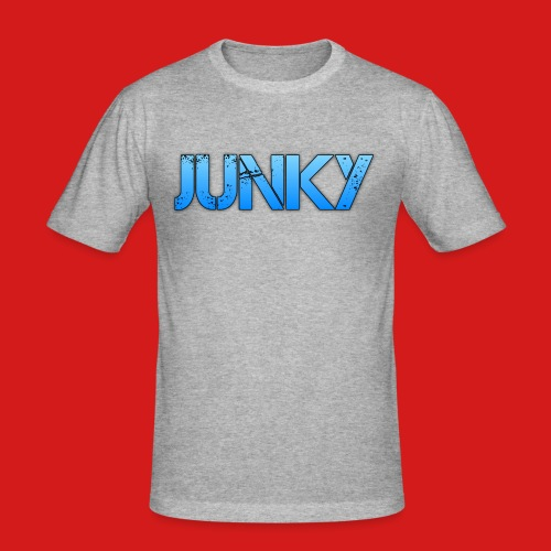 Junky Skate Blue - Men's Slim Fit T-Shirt