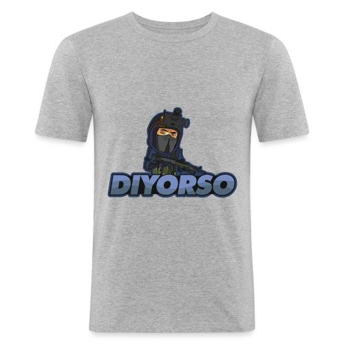 logo diyo clair png - T-shirt près du corps Homme