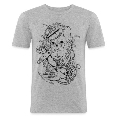 oldschoolboy png - Männer Slim Fit T-Shirt