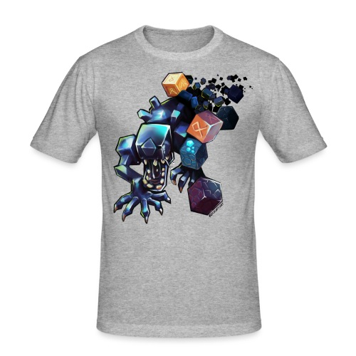 BDcraft Alien - Men's Slim Fit T-Shirt
