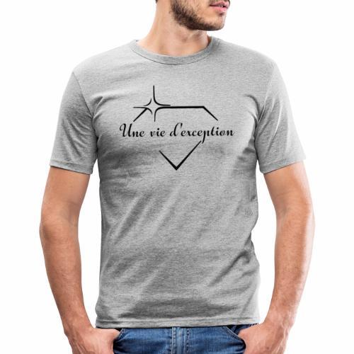 Une vie d'exception - T-shirt près du corps Homme