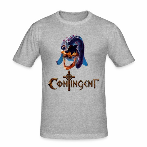 Contignent Logo - Men's Slim Fit T-Shirt