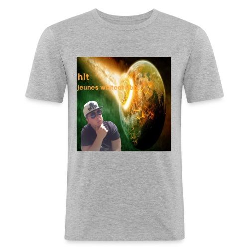 te -shirt pochette ablum HLT - T-shirt près du corps Homme
