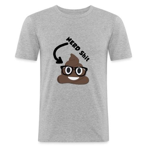NERD Shit - Männer Slim Fit T-Shirt