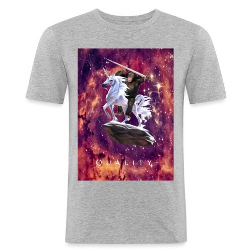 space monkey: the conqueror - Men's Slim Fit T-Shirt