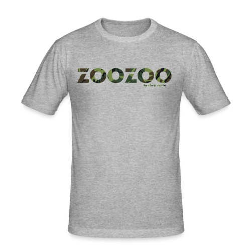 ZooZoo Camoflague Green - Männer Slim Fit T-Shirt