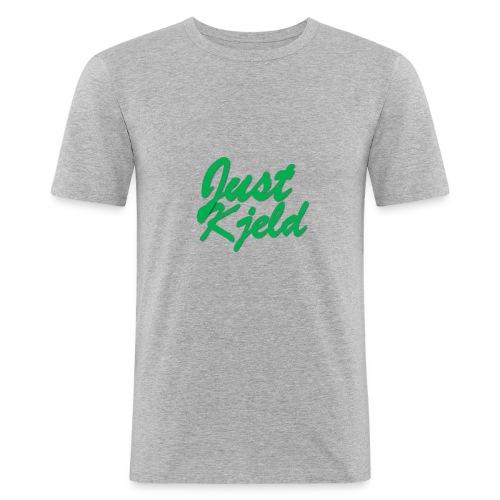 JustKjeld - Mannen slim fit T-shirt