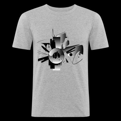 Sonic - Männer Slim Fit T-Shirt