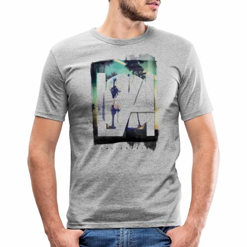 LA California - Men's Slim Fit T-Shirt