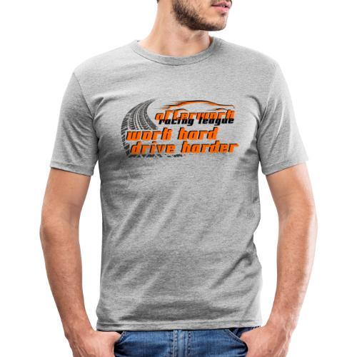 afterWork Racing League 02 - Männer Slim Fit T-Shirt