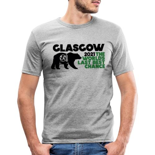 Last Best Chance - Glasgow 2021 - Men's Slim Fit T-Shirt