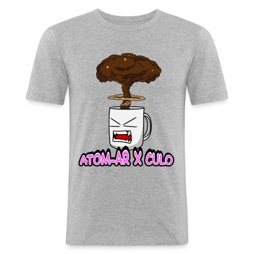 Atom Coffe - Camiseta ajustada hombre