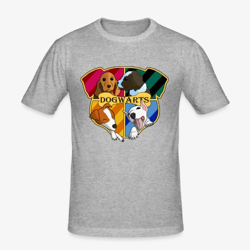 Dogwarts Logo - Men's Slim Fit T-Shirt