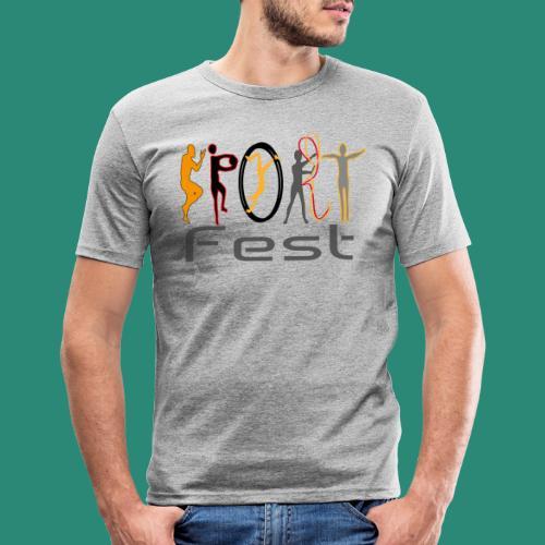 sportfest - Männer Slim Fit T-Shirt