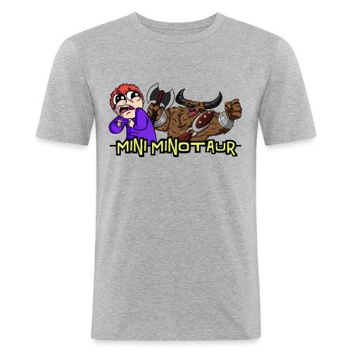 youtubetransparenticon - Men's Slim Fit T-Shirt