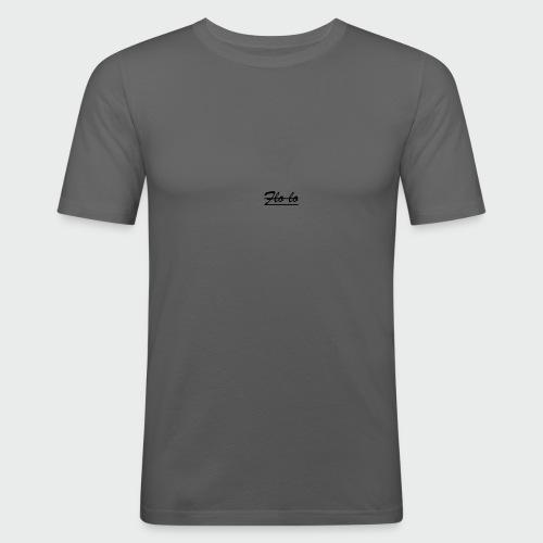 flolo durchgestrichen - Männer Slim Fit T-Shirt