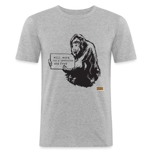 Glenn Doherty - Mannen slim fit T-shirt