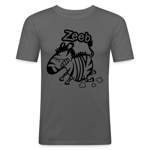 zèbre - T-shirt près du corps Homme