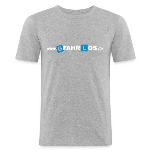gfahrlos Webadresse ohne - Männer Slim Fit T-Shirt