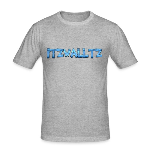 walltz home merch - Slim Fit T-shirt herr