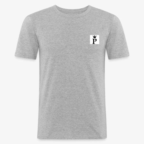 para t shirt - Mannen slim fit T-shirt