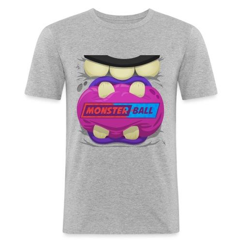 Monster Chew Logo - Men's Slim Fit T-Shirt