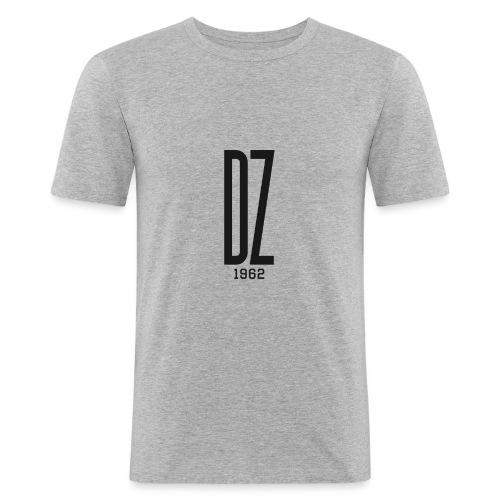 Logo transparent noir DZ 1962 - T-shirt près du corps Homme