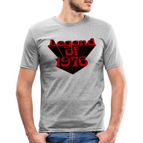 Legend of 1976 - Männer Slim Fit T-Shirt