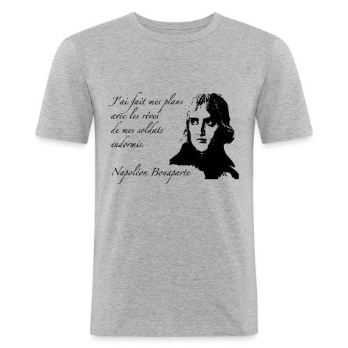 napoleon 1 - Maglietta aderente da uomo