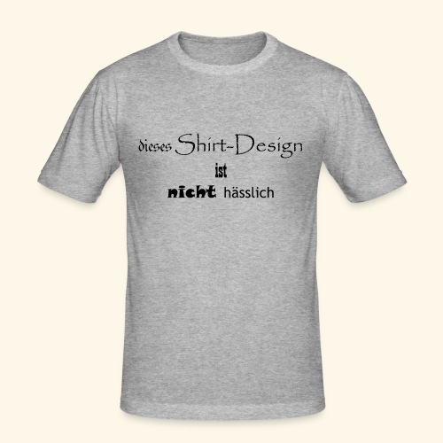 test_shop_design - Männer Slim Fit T-Shirt