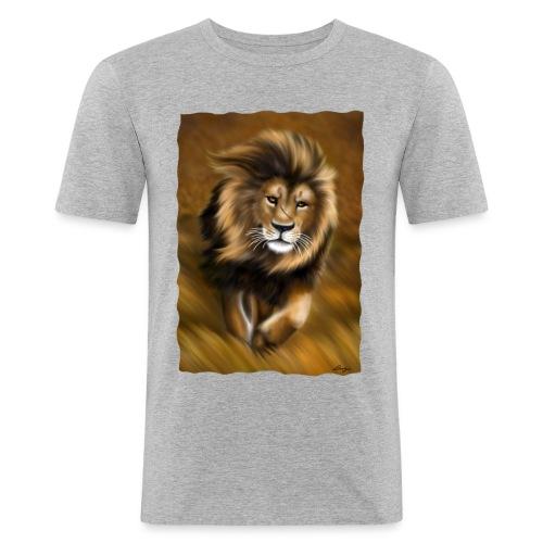 Il vento della savana - Maglietta aderente da uomo
