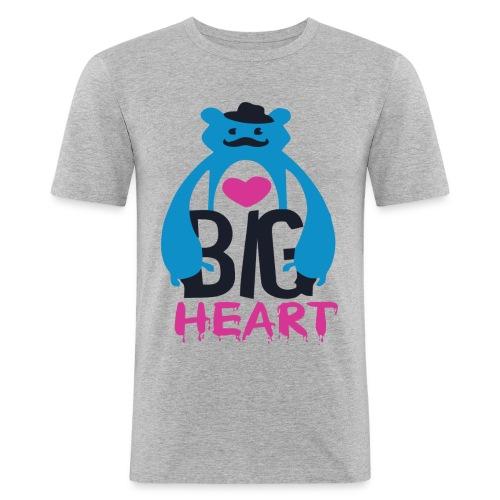 Big Heart Monster Hugs - Men's Slim Fit T-Shirt