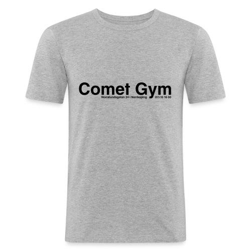 cometgym logga - Slim Fit T-shirt herr