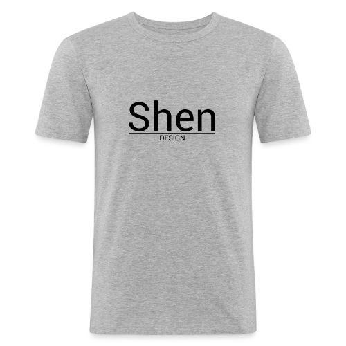 Shen' Design - T-shirt près du corps Homme