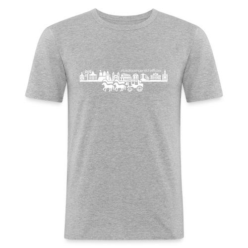 #badkissingenschafftdas - Männer Slim Fit T-Shirt