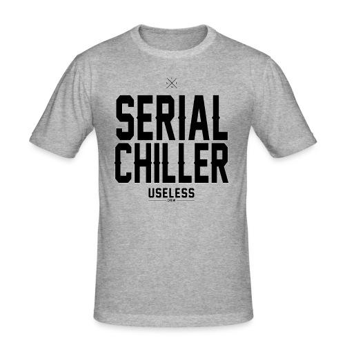 Serial Chiller - Männer Slim Fit T-Shirt