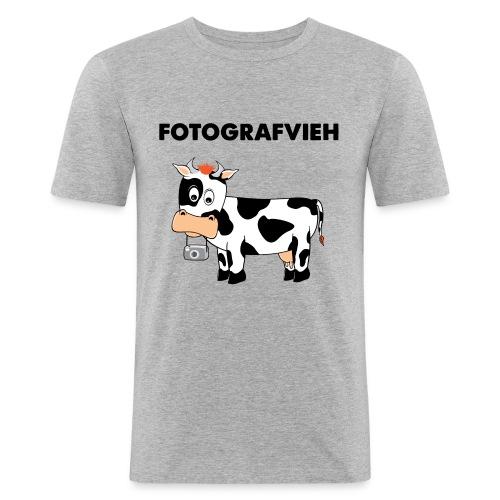 Fotografvieh - Männer Slim Fit T-Shirt