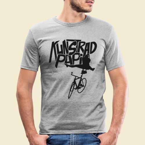 Kunstrad | Artistic Cycling - Kunstrad Papi black - Männer Slim Fit T-Shirt