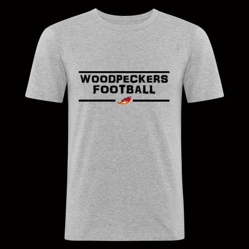 woodpeckersfootball2 - Männer Slim Fit T-Shirt