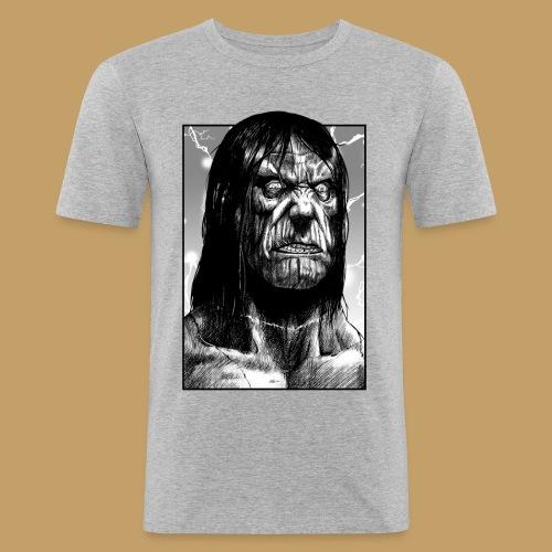Frankenstein's Monster - Obcisła koszulka męska