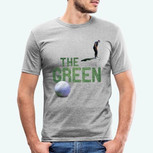 Golf - The Green - Männer Slim Fit T-Shirt